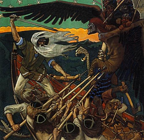 Живопись и скульптура конца XIX - начала ХХ века (300 работ) (1 часть)