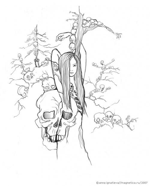 Наиболее полная подборка работ художницы - иллюстратора Анны Игнатьевой (159 работ)