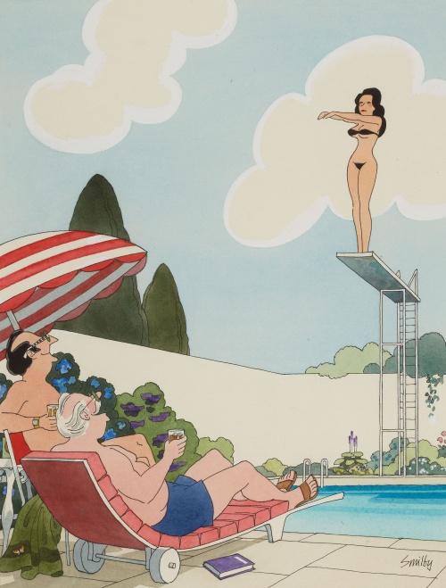 Smilby( Francis Wilford-Smith). Playboy cartoon illustrations (43 работ)