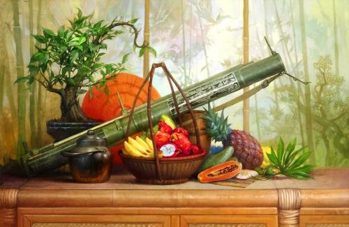 Натюрморты с оружием (12 работ)