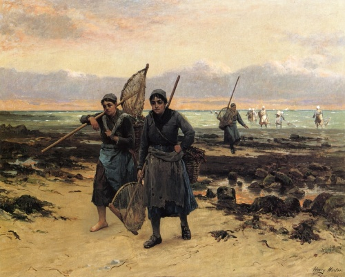 Художник Henry Mosler (1841-1920) (64 работ)