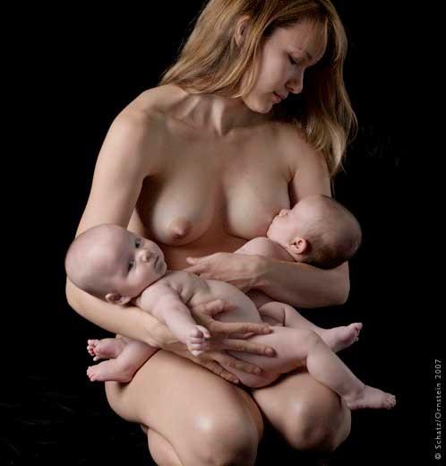 Новые матери, новые рожденные. Фотограф Howard Schatz (35 фото) (эротика)
