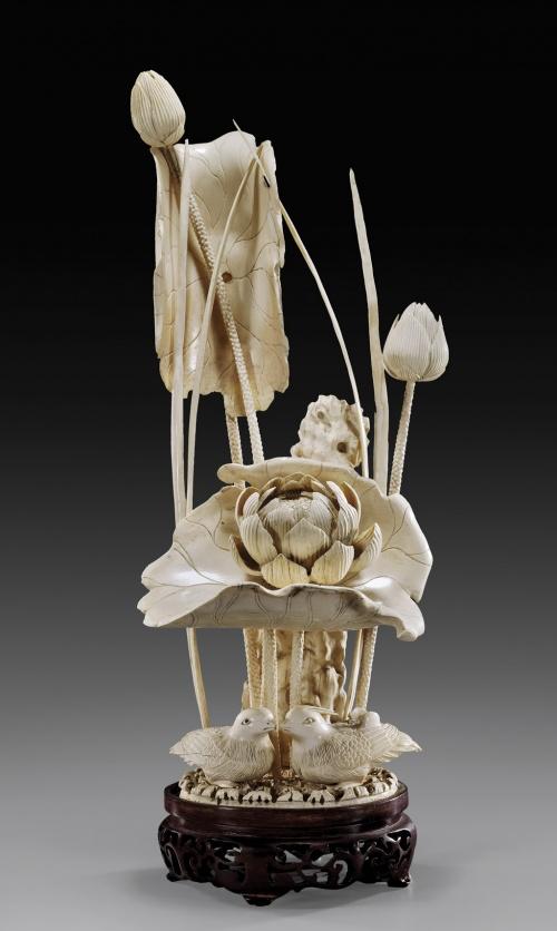 Великолепная резьба по слоновой кости (43 работ)