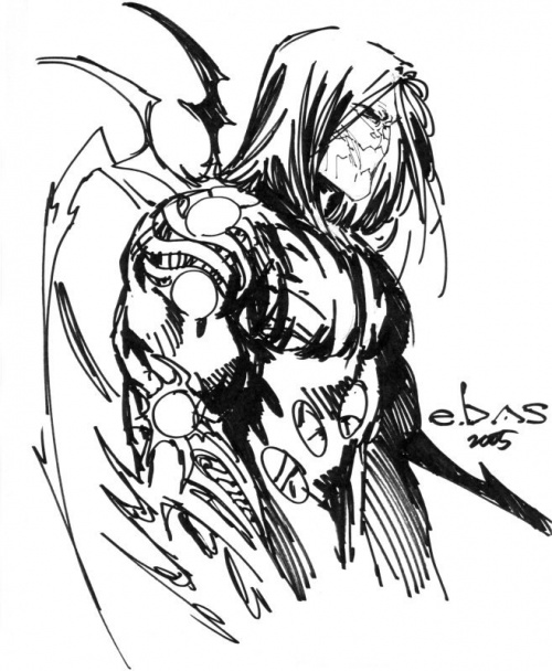 Американский художник комиксов Eric Basaldua (440 работ)