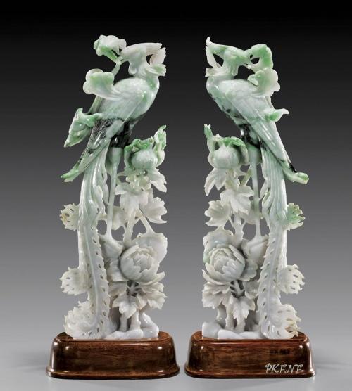 Резьба китайских мастеров. Камень (40 фото)