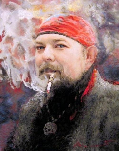 Пастель Алексея Крюковского (54 работ)