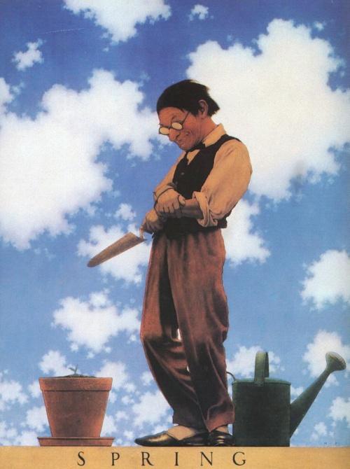 Художник и иллюстратор Maxfield Parrish (1870 - 1966) (424 работ)