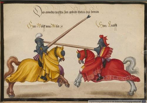Средневековый турнир (34 работ)