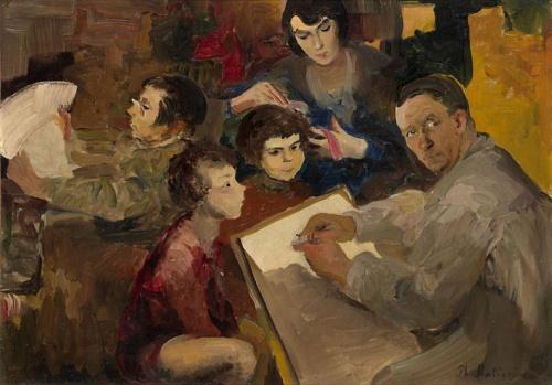 Малявин Филипп Андреевич (1869-1940) (99 работ)