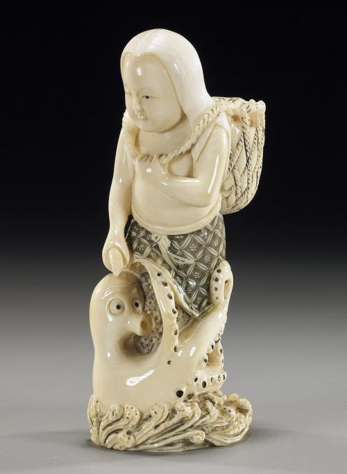 Окимоно - высокое искусство резьбы (22 работ)
