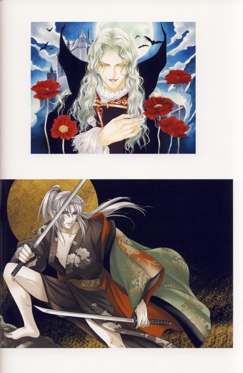 Иллюстрации Юу Хигури | The Best of Art Works You Higuri (42 работ) (2 часть)