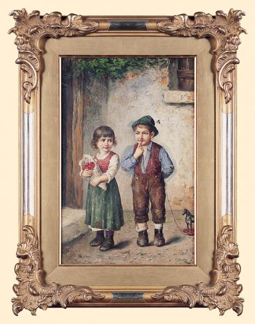 Немецкий художник Carl Ostersetzer (1850-1914) (43 работ)