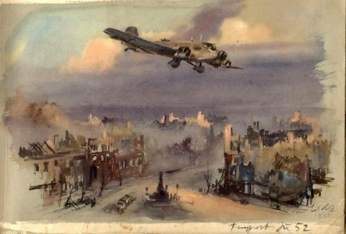 World War II Sketches By Hans Liska (55 работ)