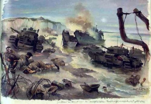 World War II Sketches By Hans Liska (55 работ)