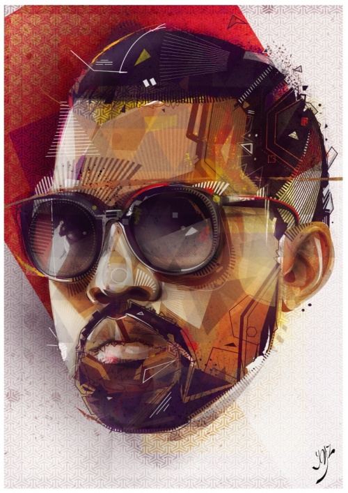 Иллюстратор Yo Az (30 работ)
