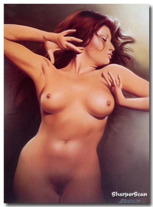 Работы художника-иллюстратора Michel Gourdon (120 работ)