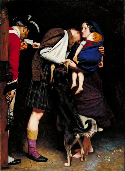 Подборка репродукций картин Лондонской Галереи (Tate Britain) (89 работ) (2 часть)