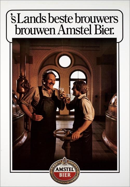 Реклама пива (винтаж, ретро) (122 фото)