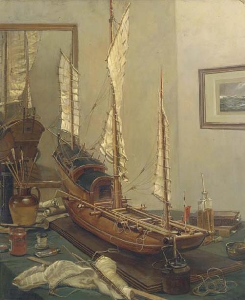 Художник-маринист Montague Dawson (1895–1973) (200 работ)