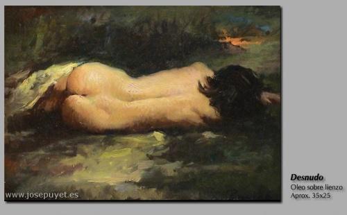 Художник-импрессионист Jose Puyet (Spanish, 1922-2004) (55 работ)