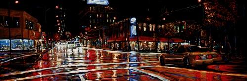 David Wilson – Огни большого города (95 работ)