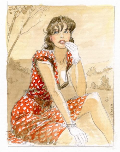 Художник - иллюстратор Jean-Pierre Gibrat (129 работ)