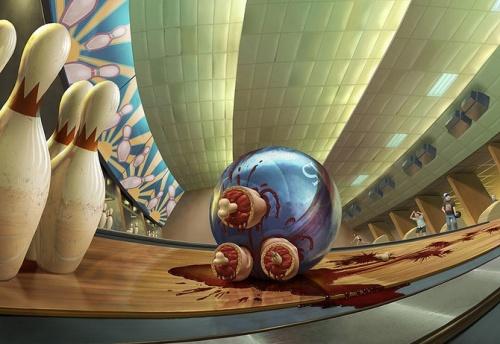 Иллюстратор Oscar Ramos (55 работ)