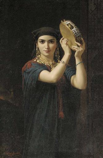 Французский художник Emile Lecomte-Vernet (1821-1900) (19 работ)