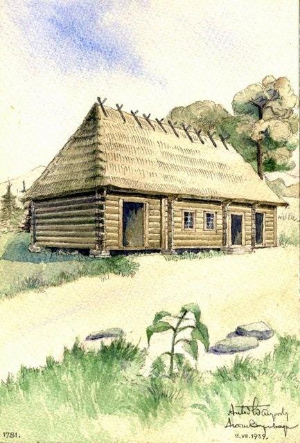Художник Антин Варивода - Акварели деревянных церквей (178 работ)