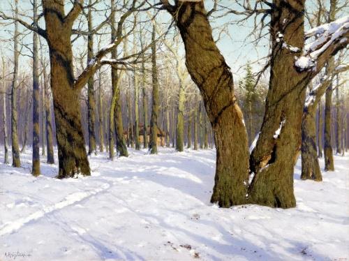 Подборка репродукций картин русских художников-пейзажистов (64 работ) (1 часть)