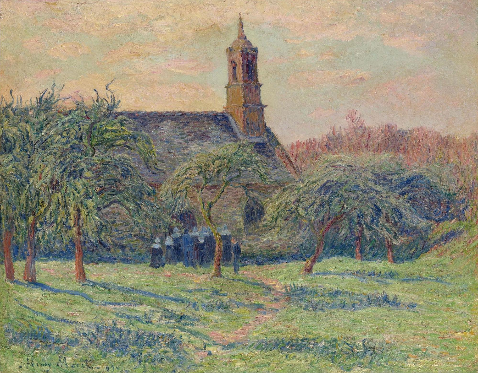 Impressionist / Neoimpressionist Art-Sotheby`s Auction Lots часть №2. (528  работ) (1 часть) » Страница 4 » Картины, художники, фотографы на Nevsepic