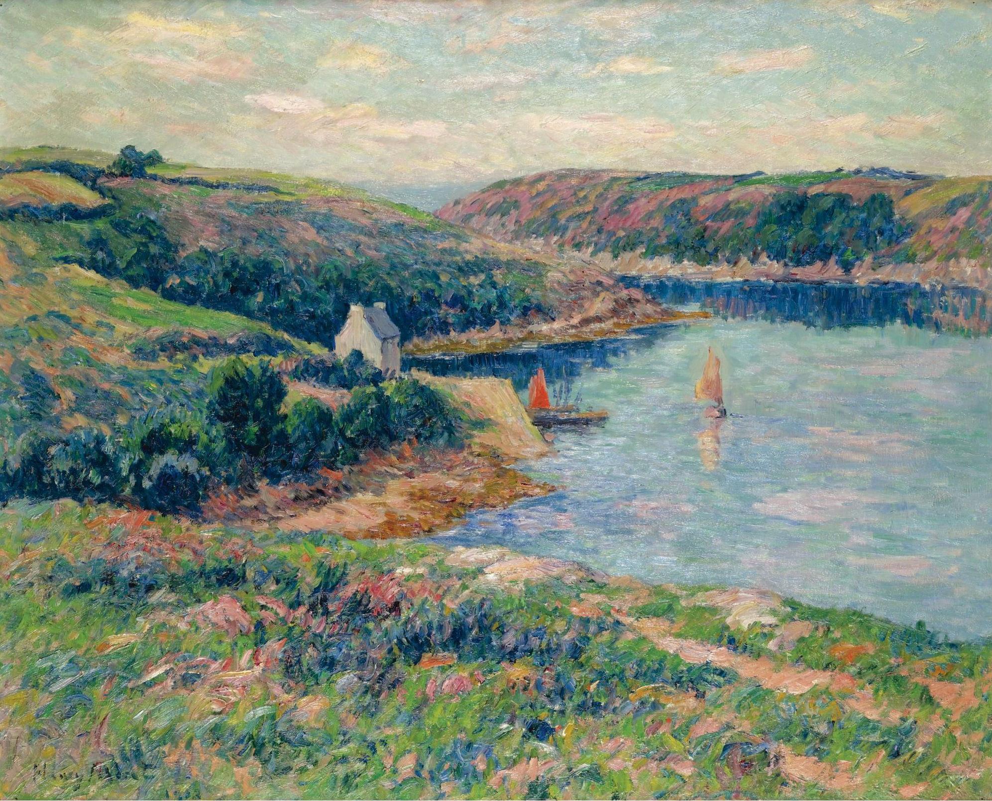 Impressionist / Neoimpressionist Art-Sotheby`s Auction Lots часть №2. (528  работ) (1 часть) » Страница 14 » Картины, художники, фотографы на Nevsepic