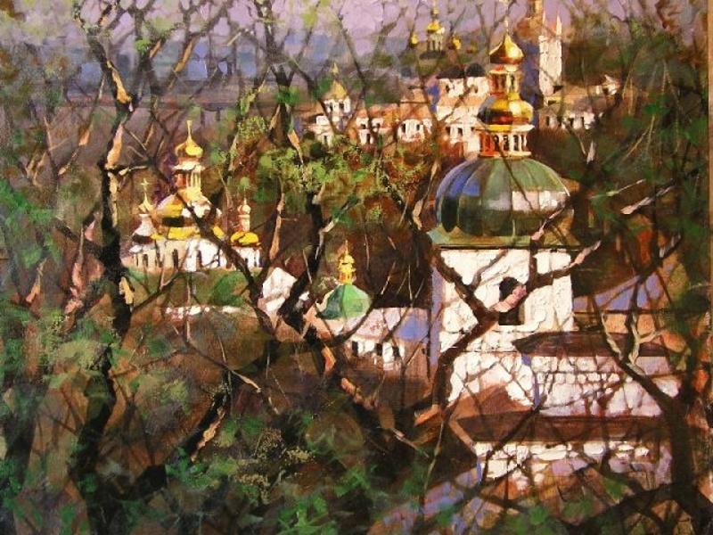 Андрей куцаченко - художник из киева, там же живет и работает