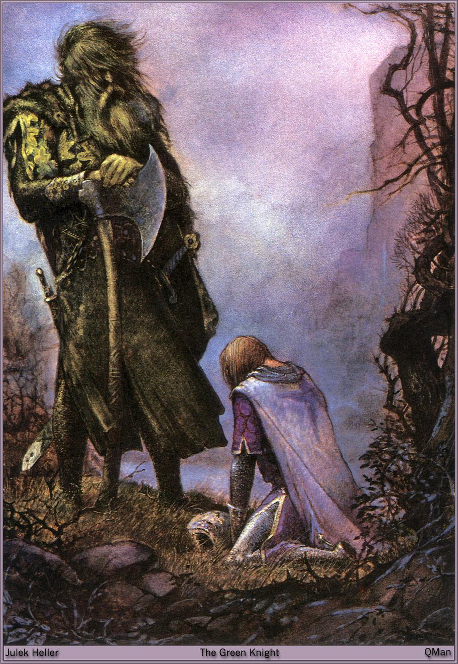 Sir gawain and the green knight symbolism essays