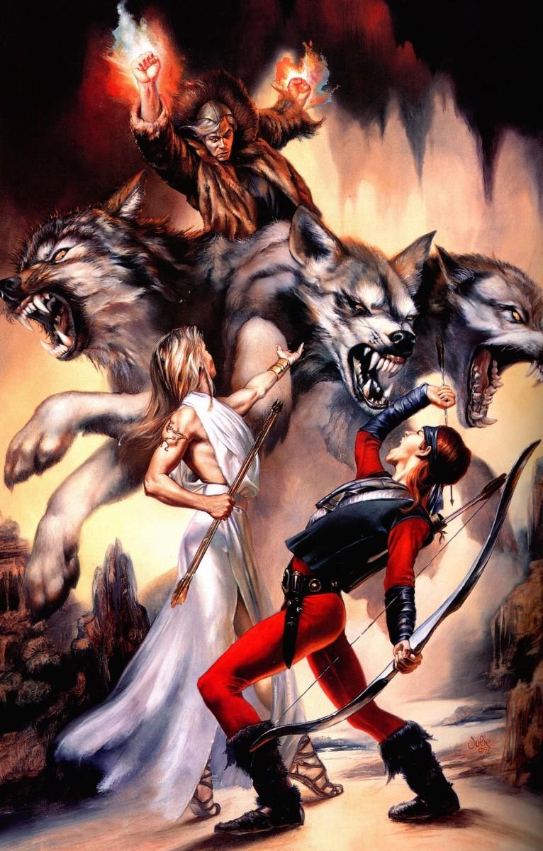 Werewolf fuck elf adult image