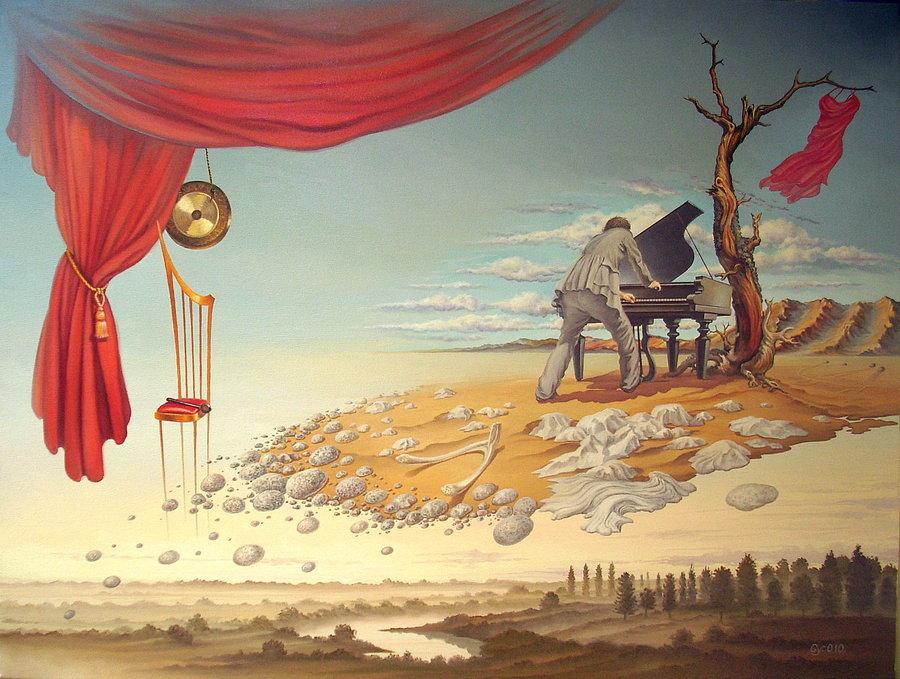 картинки на тему в себя сюрреализм дворца бегали