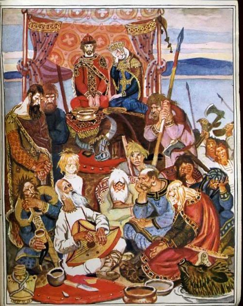 Художник - иллюстратор Лосин Вениамин Николаевич (173 работ)