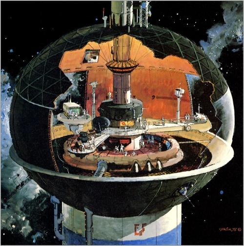Robert Mccall - Иные миры (45 работ)