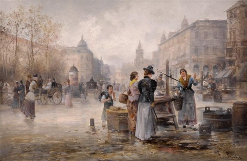 Живопись Emil Barbarini (12 работ)
