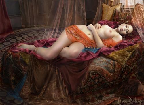 Artworks by Marta Dahlig (53 работ)