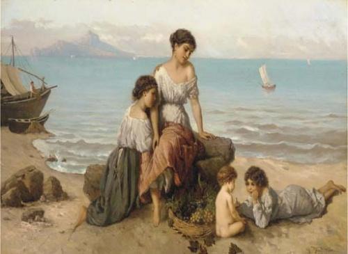 Немецкий художник Wilhelm Kray (1828-1889) (44 работ)
