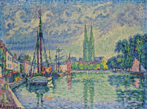 Impressionist / Neoimpressionist Art-Sotheby`s Auction Lots часть №2. (432 работ) (2 часть)