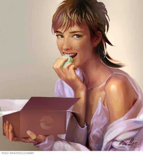 Иллюстратор Zhang Weimang (68 работ)