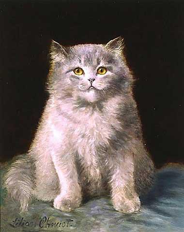 Английский художник-анималист Lilian Cheviot (1884-1932) (73 работ)