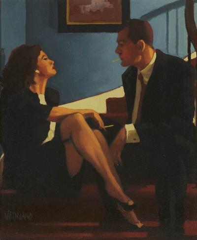 Современный британский художник Jack Vettriano (260 работ)