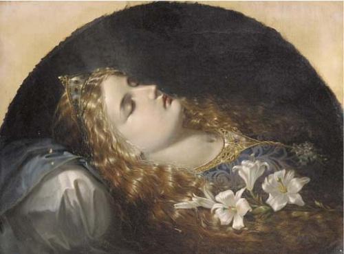 Английский живописец Edward Henry Corbould (1825-1905) (76 работ)
