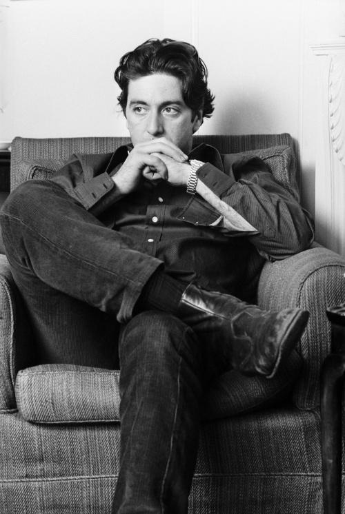 Аль Пачино. Фотосессия в Лондоне (фотограф Steve Wood, 25 марта 1974) (4 фото)