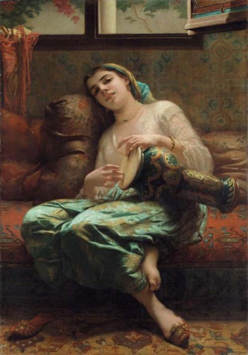 Французский художник Charles Landelle (1821-1908) (75 работ)