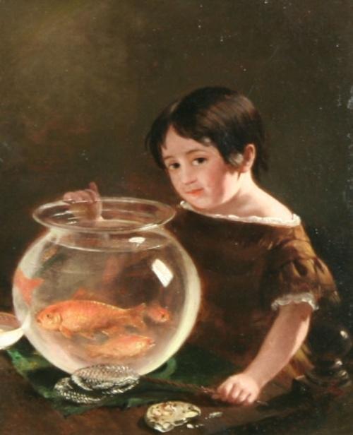 Американский художник George Cochran Lambdin (1830-1896) (57 работ)