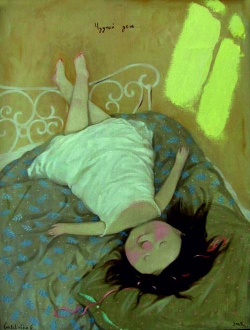 Картины Евгении Гапчинской (53 работ) (1 часть)